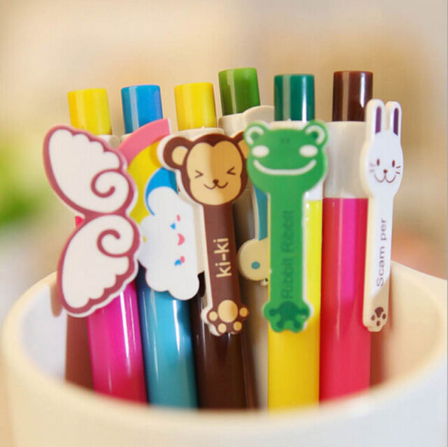 Fashion 1xKorean kawaii cartoon stylish  pen ballpen Kids Gift Stationery HOT