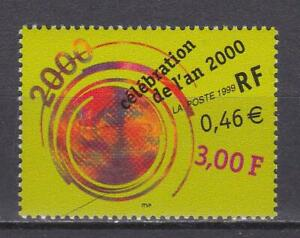 F960-FRANCE-STAMPS-1999-SEASONS-GREETINGS-MILLENNIUM-MNH