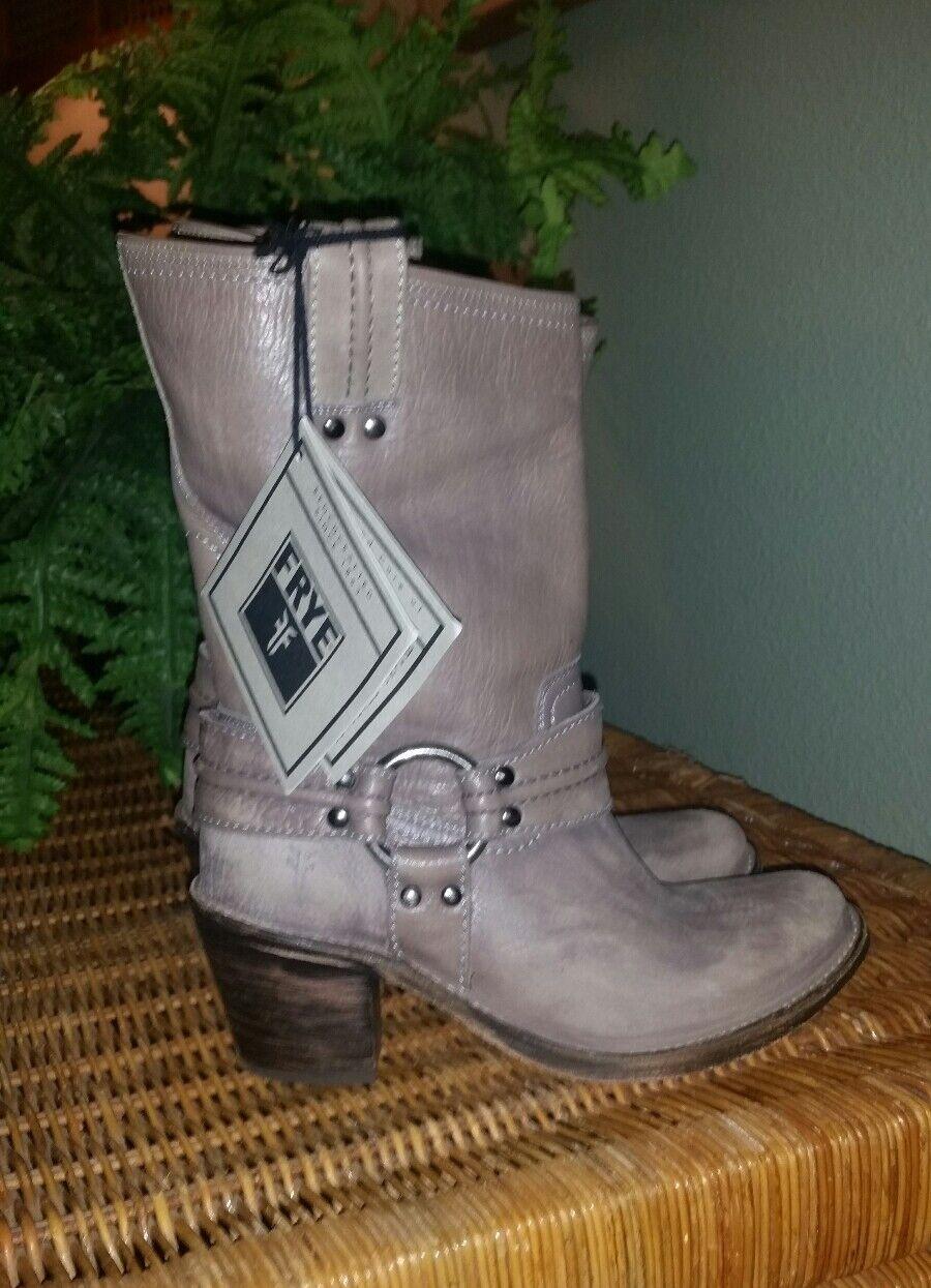 Sconto del 70% Frye grigio Leather Leather Leather Carmen Harness Short stivali New  6  prezzi più convenienti