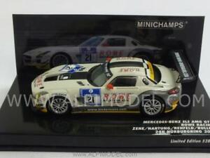 Mercedes Sls Amg Gt3 Nurburgring 2012 - Prendre 1h43 Minichamps 437123221