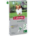 ADVANTIX BAYER SPOT-ON CANI da 0 fino 4 KG ANTIPARASSITARIO ANTIZECCHE ANTIPULCI