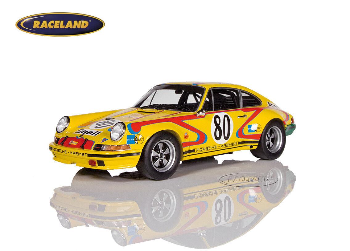 Porsche 911s Kremer Racing le mans 1972 fitzpatrick Kremer, Spark 1 18, 18s213