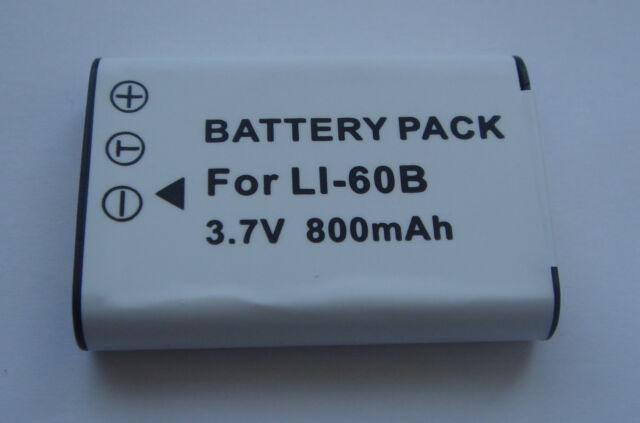 Akku Li-60B DBL70 EN-EL11 D-Li78 für Sanyo Xacti VPC-E10 Neu
