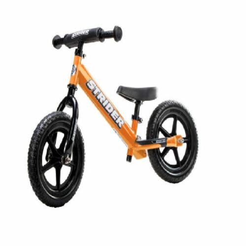 STRIDER 12 Sport Kids Balance Bike No-Pedal Learn To Ride Pre Bike orange