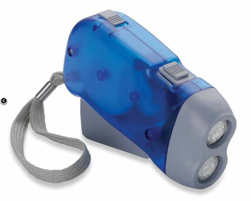 Gelert 2 LED Squeeze Torch