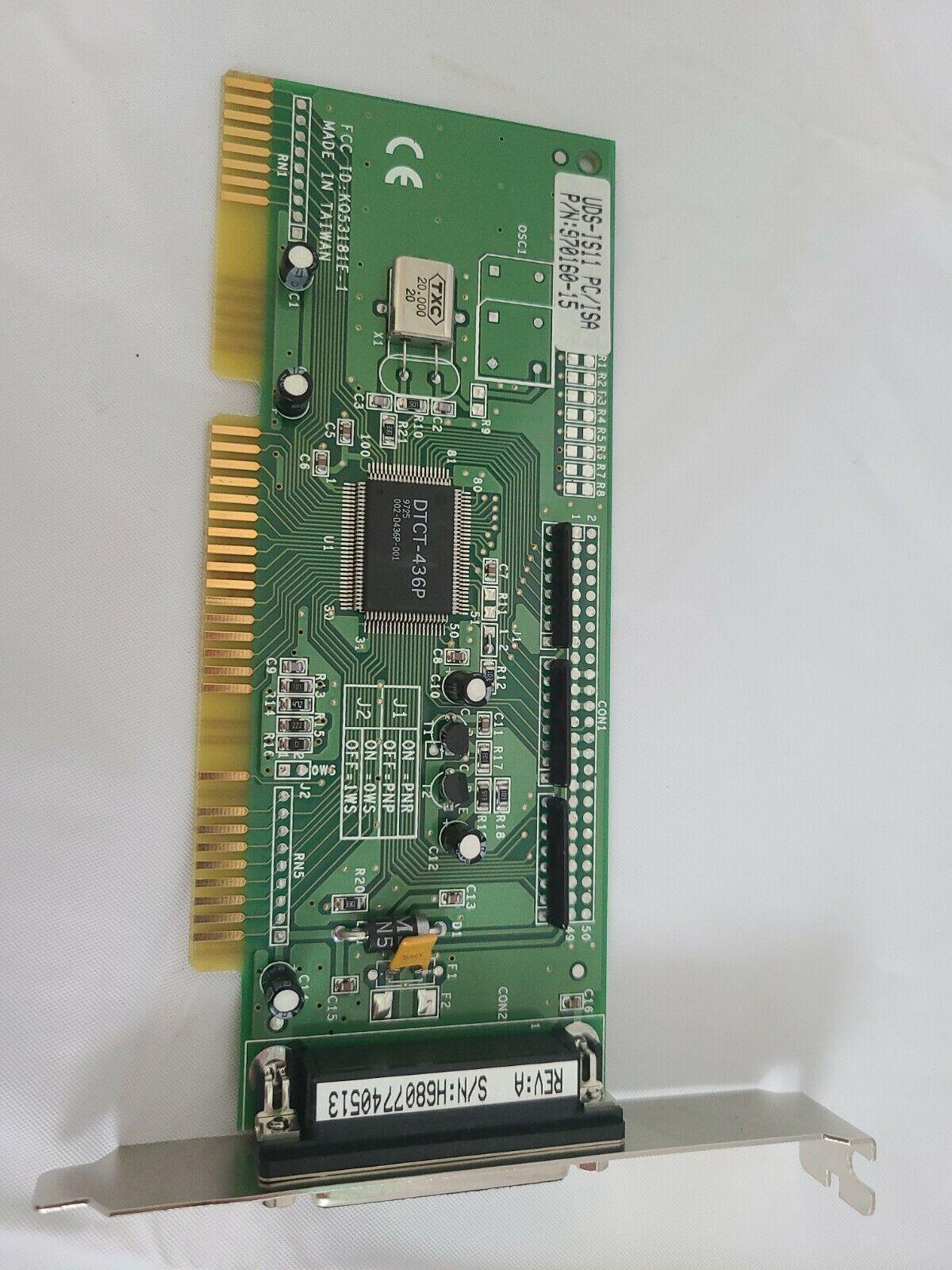 UDS-IS11 ISA SCSI card 970160-15