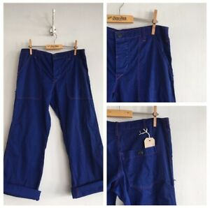 Vintage-Cotton-Red-Stitch-Chore-Workwear-Artisan-Trousers-Pants-W31-32-Small