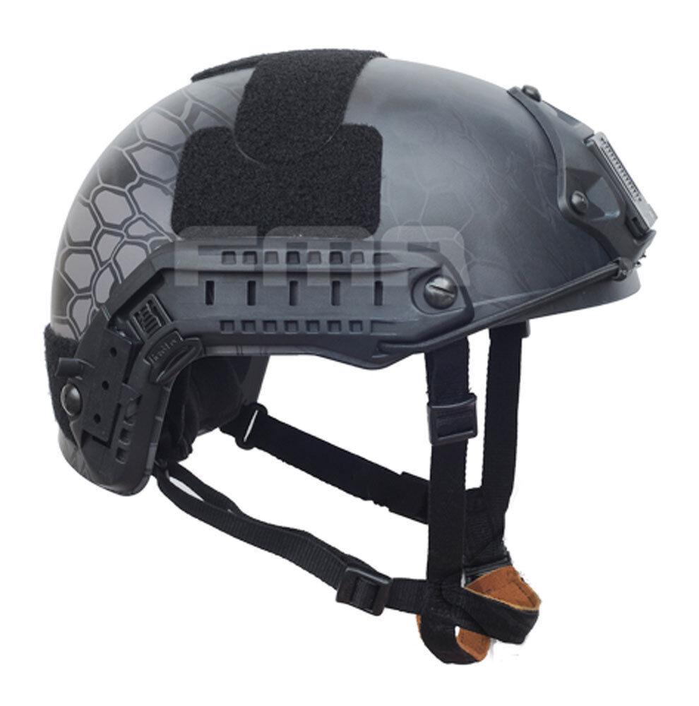 NEW Airsoft GS Predective FMA Ballistic Helmet TYPHON TA873 M L