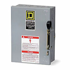 3 Phase 60 Amp Disconnect Switch Ds Sqd 343