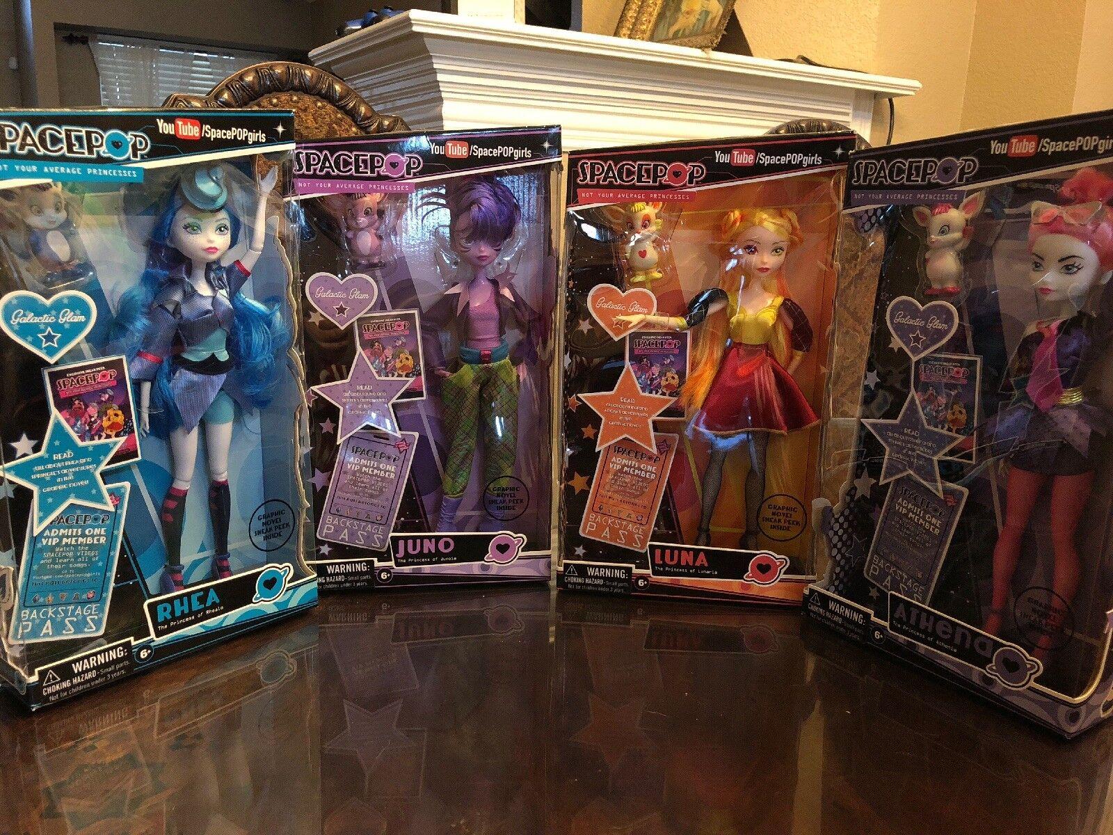 Madame Alexander spacepop Princesa Juego de 4 Muñecas   envío Gratuito
