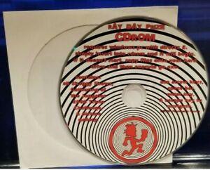 Insane-Clown-Posse-Ray-Day-CD-Rom-Shaggy-Show-trivia-game-pc-rare