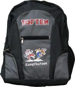 Kampfkatzen-Rucksack-Ed-2017-Top-Ten-42-x-30-x-15cm-Kampfsport-Training