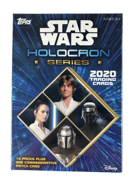 2020 Topps Star Wars Holocron Series Blaster Box Factory Sealed