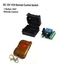 DC 12V relay 1CH 433MHz wireless RF Remote Control Switch