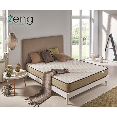 Colchón Visco Luxury Bamboo Confort Viscoelástico Altura +/-21