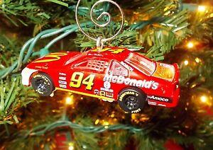 Christmas Tree Bill.Details About Custom Nascar Bill Elliott 94 Christmas Tree Ornament W Hanger Mcdonald S