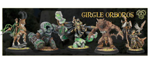 PRIVATEER PRESS - HORDES - CIRCLE ORBgoldS - CHARACTERS - VARIOUS