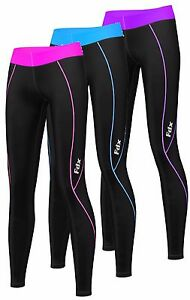 AU Womens Compression Base layer skin Tights shorts Pants Gym Yoga running