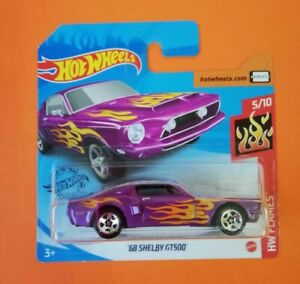 039-68-Shelby-GT500-Hot-Wheels-2020-Caja-P-Hw-Flames-5-10-Mattel