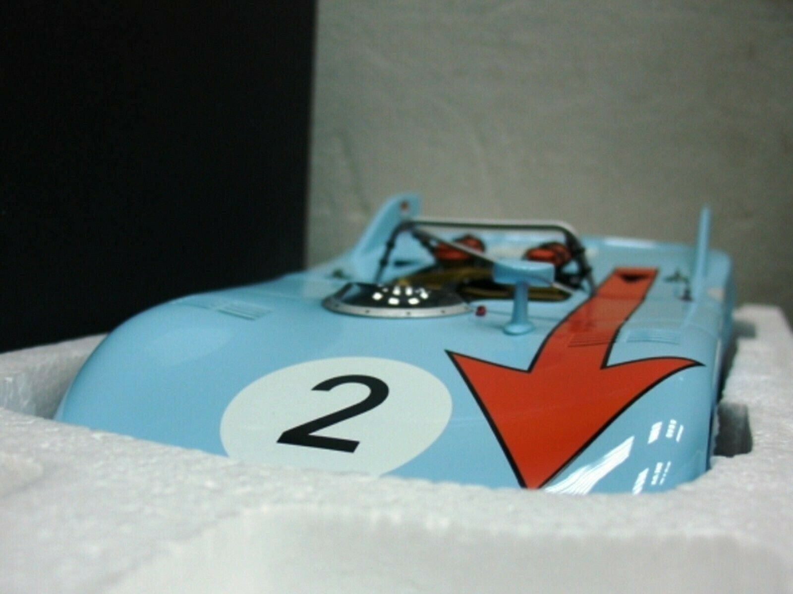 WOW EXTREMELY RARE Porsche 908 03  2 Gulf World Championship 1971 1 18 Auto Art