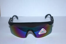HONEY G, VINTAGE 80s BLACK ROBOT NU RAVE VISOR SUNGLASSES