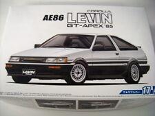NEW AOSHIMA 1985 TOYOTA COROLLA LEVIN AE86 GT-APEX 1/24 Scale KIT MODEL