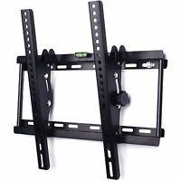 TILT TV WALL BRACKET MOUNT PLASMA LED LCD 3D 23 32 34 37 40 42 46 48 50 55 benro