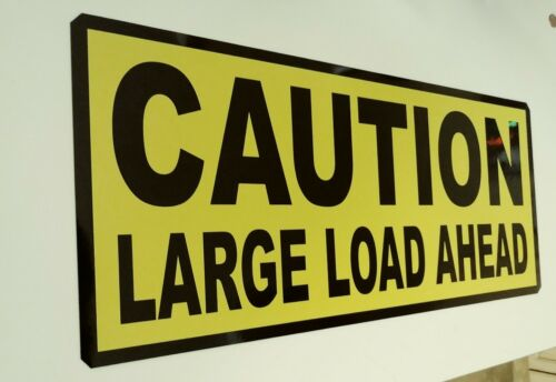 2x Magnetic Car Sign 400 x 250 mm