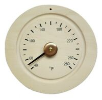 Sauna Wooden Thermometer Sauna Accessories, New, Usa Seller