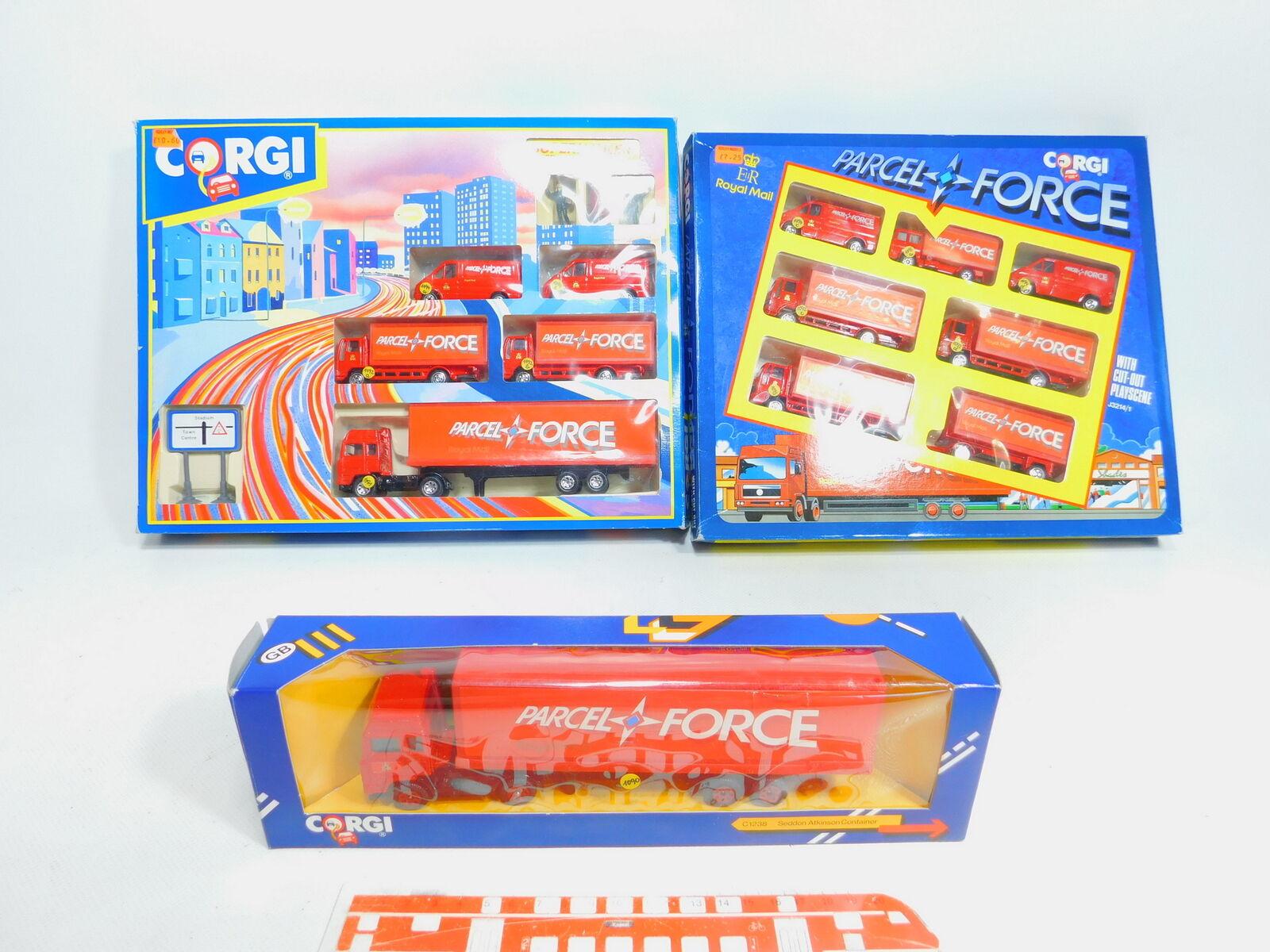 Bx737-4 x Corgi Pacco Force-Set    92610+C1238+ J3214 1, Molto Buono + 224778
