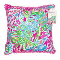 Lilly Pulitzer Large Pillow Spot Ya 18 X 18 Lg Indoor Outdoor Home Decor