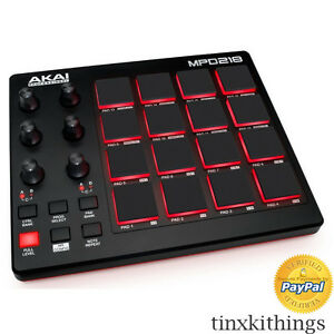 professional midi finger drum pad controller software music usb power pc mac dj 765050967672 ebay. Black Bedroom Furniture Sets. Home Design Ideas