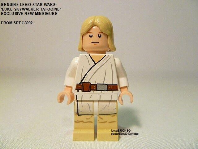 LEGO STAR WARS 'LUKE SKYWALKER TATOOINE' EXCLUSIVE MINIFIGURE SW273 SET# 8092