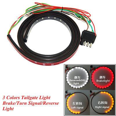 Car SUV Pickup Waterproof 3 Colors Tailgate Light Turn Signal Brake Reverse Lamp