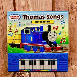 Details about Thomas & Friends Play and Learn Piano Songs Book 10 songs  Thomas Tank Engine