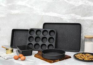 Granitestone 5 Piece Complete Nonstick Titanium Diamond Infused Bakeware Set