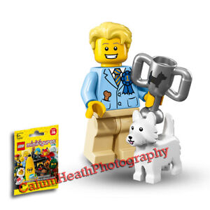 LEGO-Minifigures-Series-16-Dog-Show-Winner-New-Factory-Sealed-Unopened