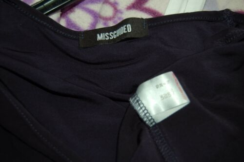 Robe Missguided Misguided Bleu queue New maxi marine en de poisson 10 wxPnAX