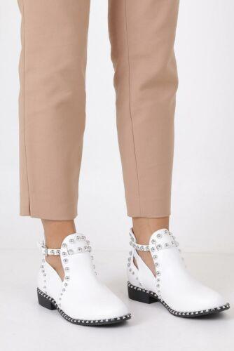 Damen Stiefel Sneakers Modisch Freizeit Komfortabel Schnalle//Klettverschluss