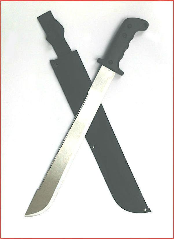 Survival  Fire Starter + Multi-Knife +2 Great  Saws + Steel  Machete +50 Ft Cord
