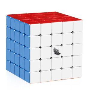 Details about 5x5x5 Magic Cubes Stickerless Original Speed Dance Cube  Puzzle Rubiks Twist Puzz