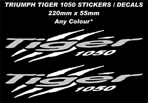 Fairing-Tank-Decals-Stickers-for-Tiger-1050-034-Claws-Stripes-034-Any-Colour