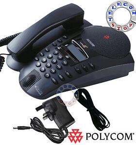 Polycom-Soundpoint-Pro-SE-225-Conference-Phone-Telephone-Inc-VAT-amp-Warranty