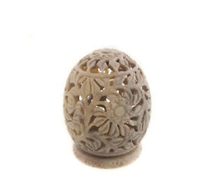 Fat Candle Tealight IN Stone All Flowers Peterandclo India 8876