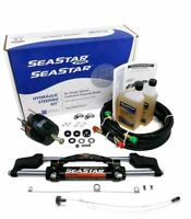 Seastar Teleflex Hk6400a-3 + Ho5110 10' Hoses Hydraulic Outboard Steering Kit