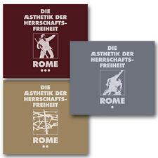 ROME Die Aesthetik der Herrschaftsfreiheit 3CD  Of the Wand and the Moon Forseti