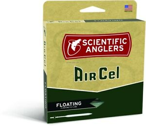 Scientific Anglers 103824 Air Cel Floating Fly Line-WF-6-F-Yellow