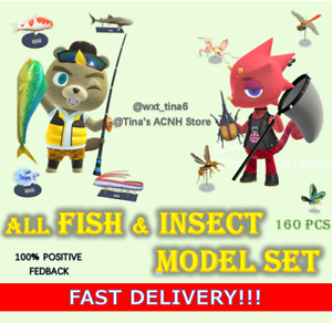 All-Fish-Shark-Insect-Bug-Model-Set-of-160-Pcs-Outdoor-Mesuem-FASTEST