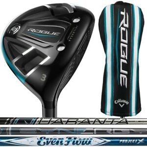 New-Callaway-Rogue-Fairway-Wood-Right-Hand-Choose-Your-Loft-Flex-and-Shaft