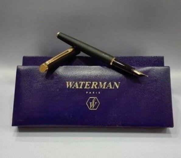 Stift Füllfederhalter Waterman Feinbearbeitung Matt-schwarz | Ausgezeichnetes Handwerk